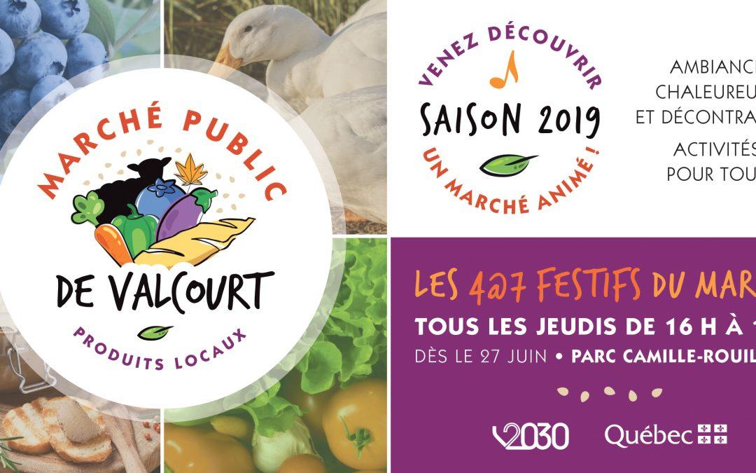 Marché public de Valcourt