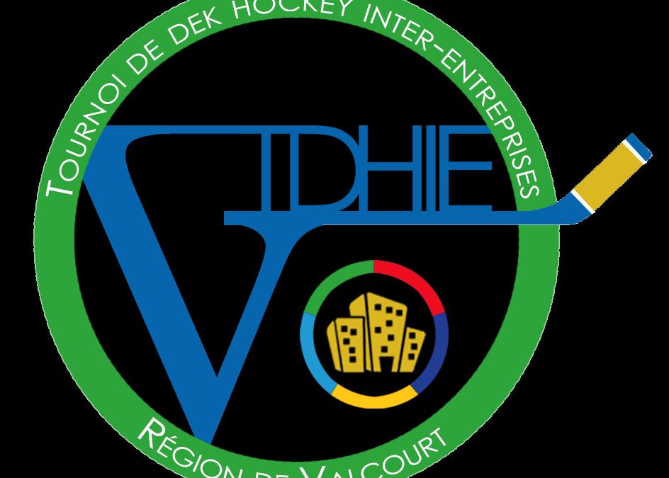 Tournoi de dek hockey inter-entreprises de la région de Valcourt