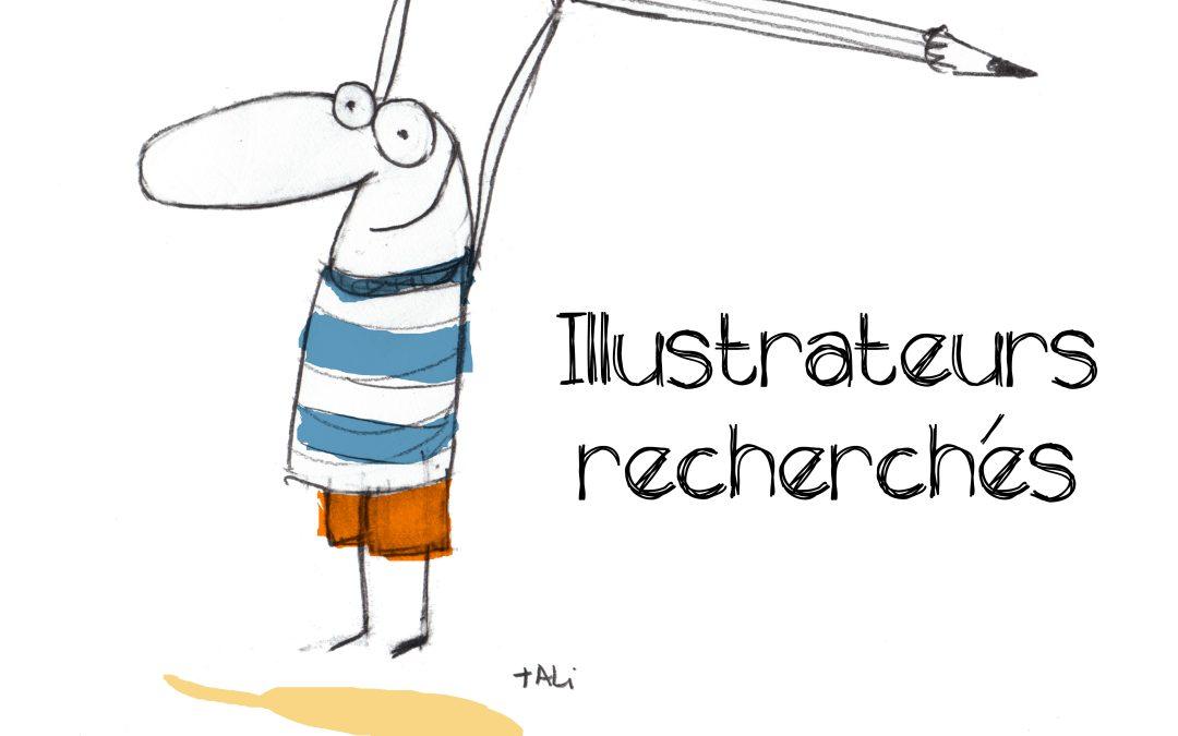 Recherche illustratrices et illustrateurs pour un projet artistique